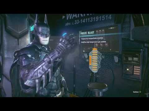 arkham knight freeze gun location