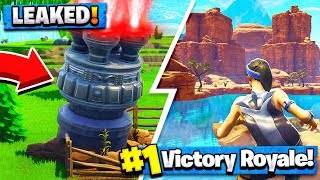 *NEW* FORTNITE SEASON 5 RELEASE DATE / MAP DETAILS / MISSILE LAUNCH! (Battle Pass Season 5)