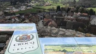 Un village en Limousin : Crocq (Creuse)