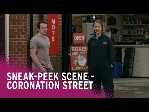 Coronation Street spoilers: Emma is interested in Seb - watch the scene