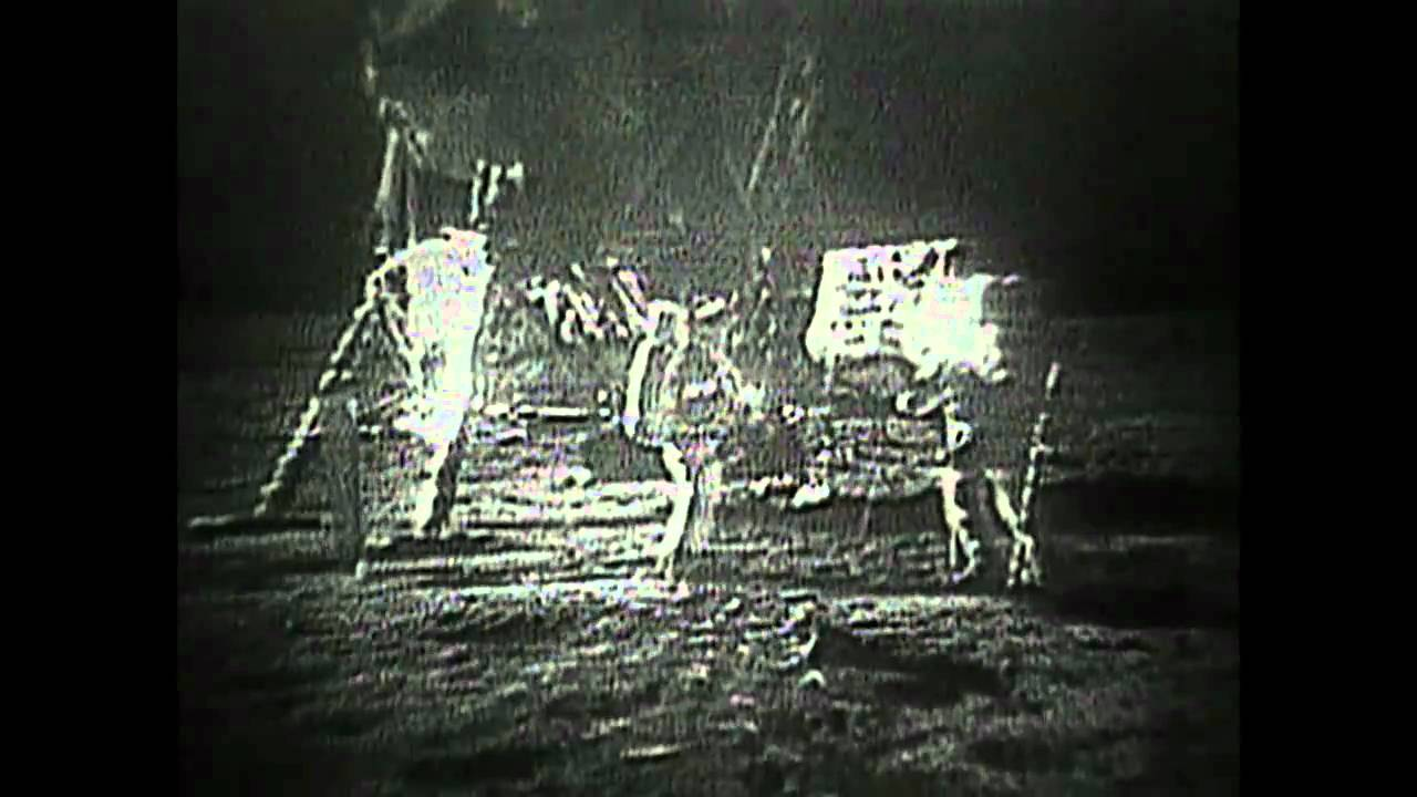 Restored Apollo 11 Video - A short video showing the ...