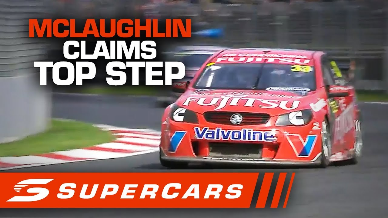 FLASHBACK: Scott McLaughlin's first win on home soil | Supercars 2020