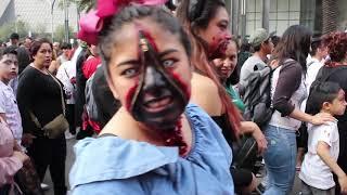 Marcha Zombie CDMX 2018