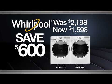 Black Friday Discounts on Whirlpool appliances at Village Home Stores