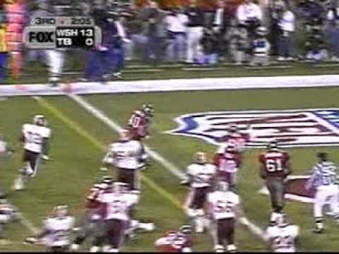 1999 NFC Divisional Playoff Redskins @ Buccaneers Highlights