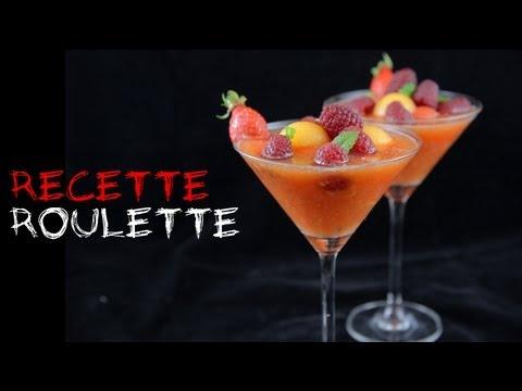 Recette : Gaspacho de melon et pastèque