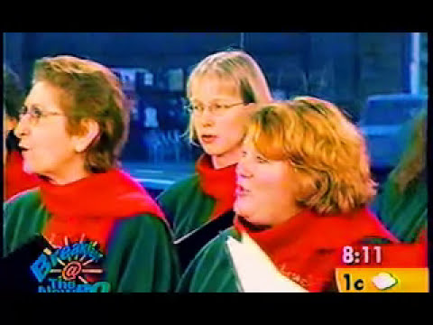 Patapan, The Stairwell Carollers live on The New RO (Ottawa television breakfast show)