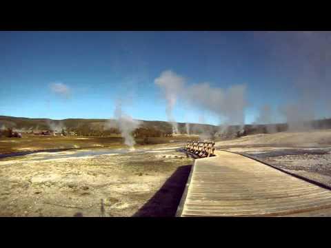 Yellowstone Geyser Basin Timelapse