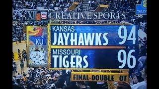 Missouri Tigers Basketball Upsets #1 Kansas Jayhawks in Double Overtime 2-4-97