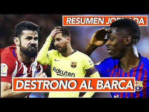"""Destrono al Barcelona, nuevo líder I """"Dembelé se quiere ir del Barca"""" I Resumen Jornada GOL DE HOY"""
