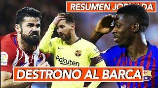 Destrono al Barcelona, nuevo líder I