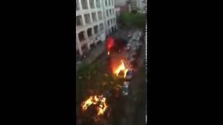 Взрывающиеся машины на съёмках «Форсаж 8»
