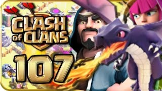 Let's Play CLASH of CLANS 107: Hohe Führung zu CK-Start