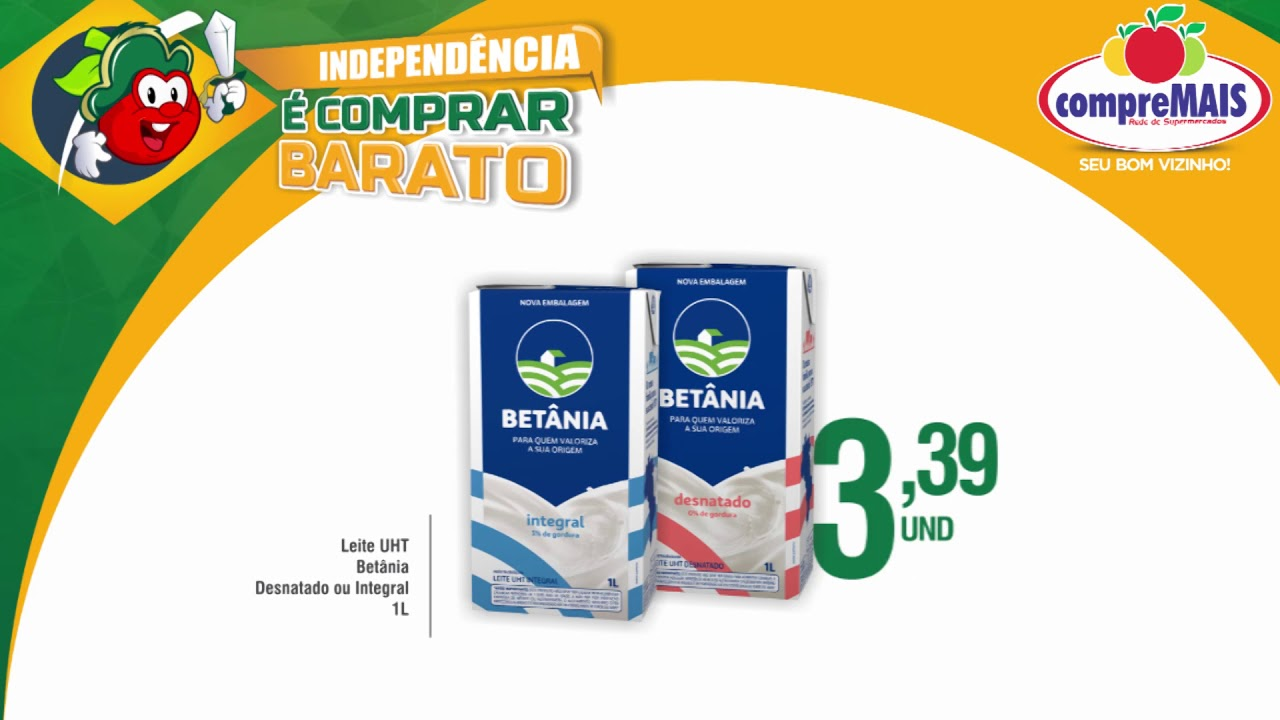 052b38b52 Independência é Comprar Barato - RCM -  03 - YouTube