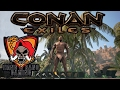 Conan Exiles Game Play - Episode 1 - Claiming my Kingdom