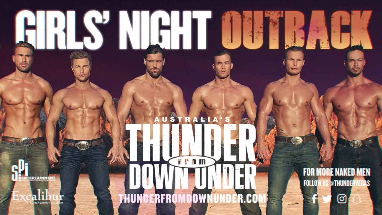 Thunder Down Under Naked