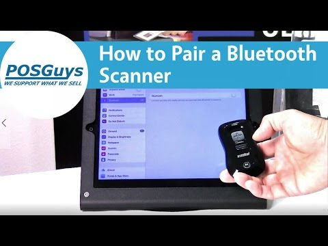 How To Pair Bluetooth Scanners To IOS, Android And Windows Devices - POSGuys.com