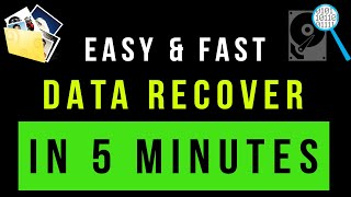 Best Data Recovery Software | Data Recover in 5 Minutes | Photo Recovery Software