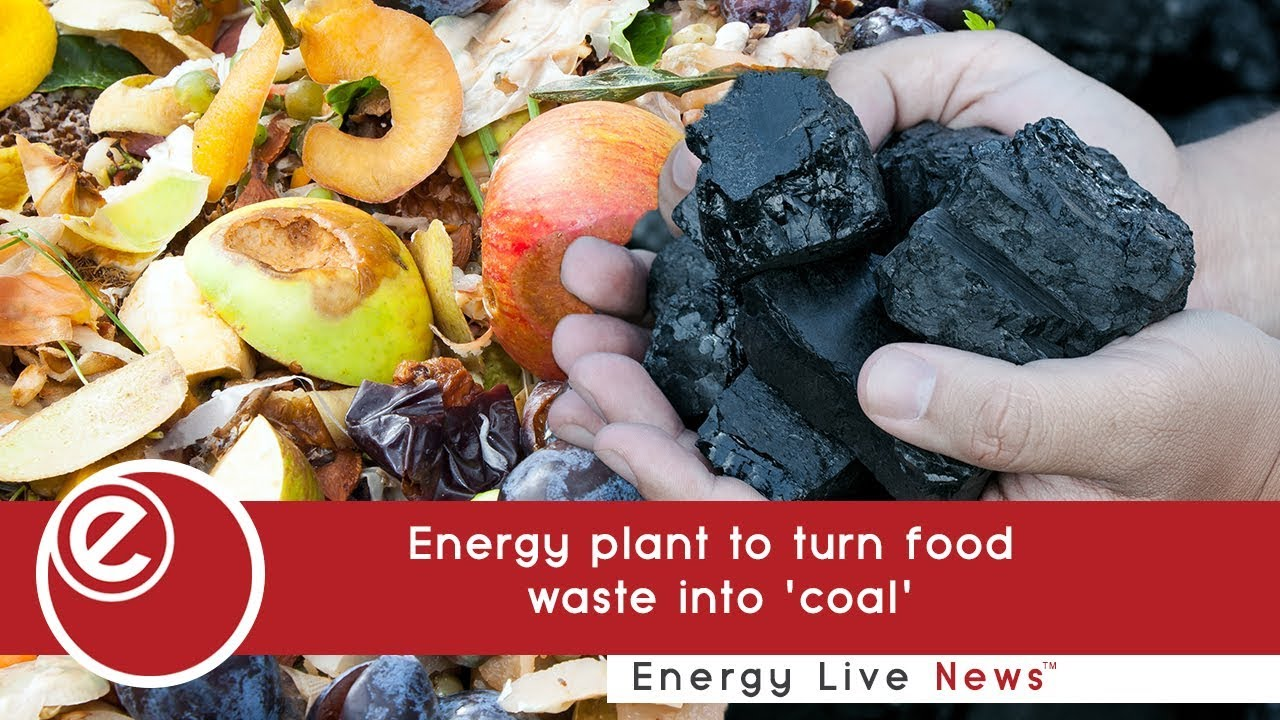 Energy plant to turn food waste into 'coal' - Energy Live News