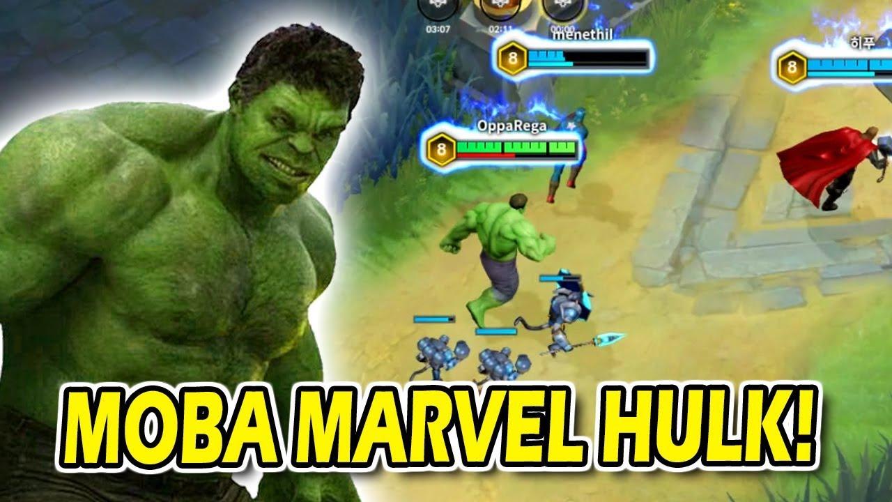 Moba Marvel Hulk Rasa Jawhead Keren Banget Ini Hero Guys