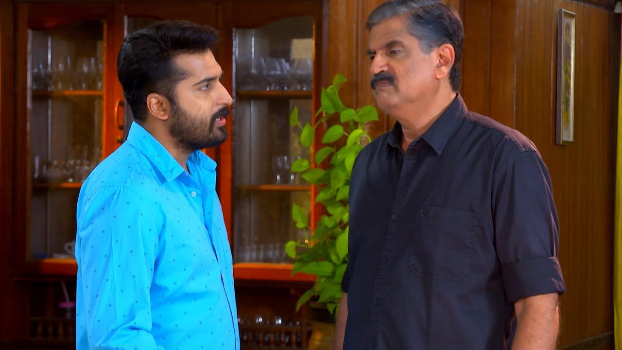 Sthreepadham | Ep 494 - Suraj against his Father | Mazhavil Manorama