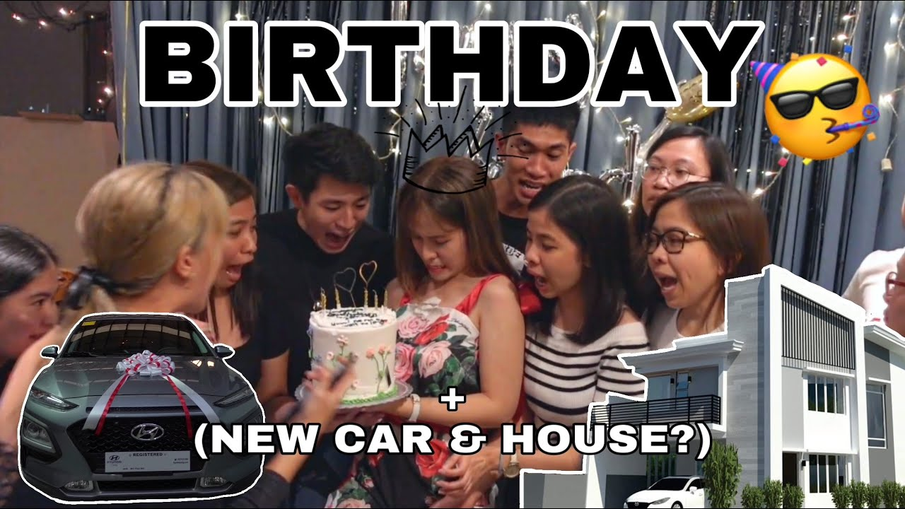 BIRTHDAY VLOG + (New Car & House?)