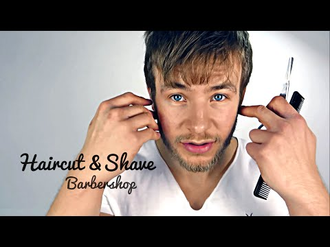 ★✰ Binaural Haircut and Shave Relaxing Roleplay - 3D ASMR Barbershop Sounds✰★