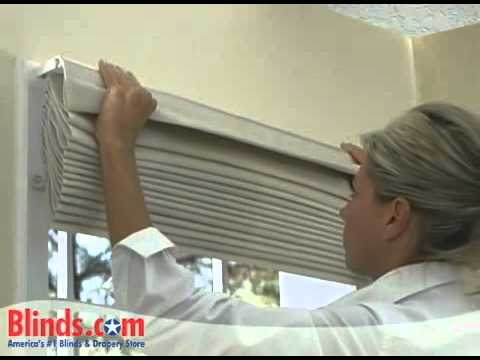 How to Install Outside Mount Roman ShadesBlinds comYouTube