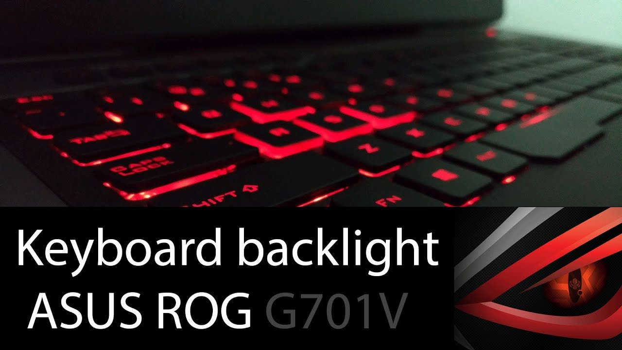 How To Adjust Keyboard Backlight On Asus Rog Gaming Laptop