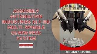 Video Assembly Automation Industries XLT-HD Multi-Spindle Screw Feed System download MP3, 3GP, MP4, WEBM, AVI, FLV Agustus 2018