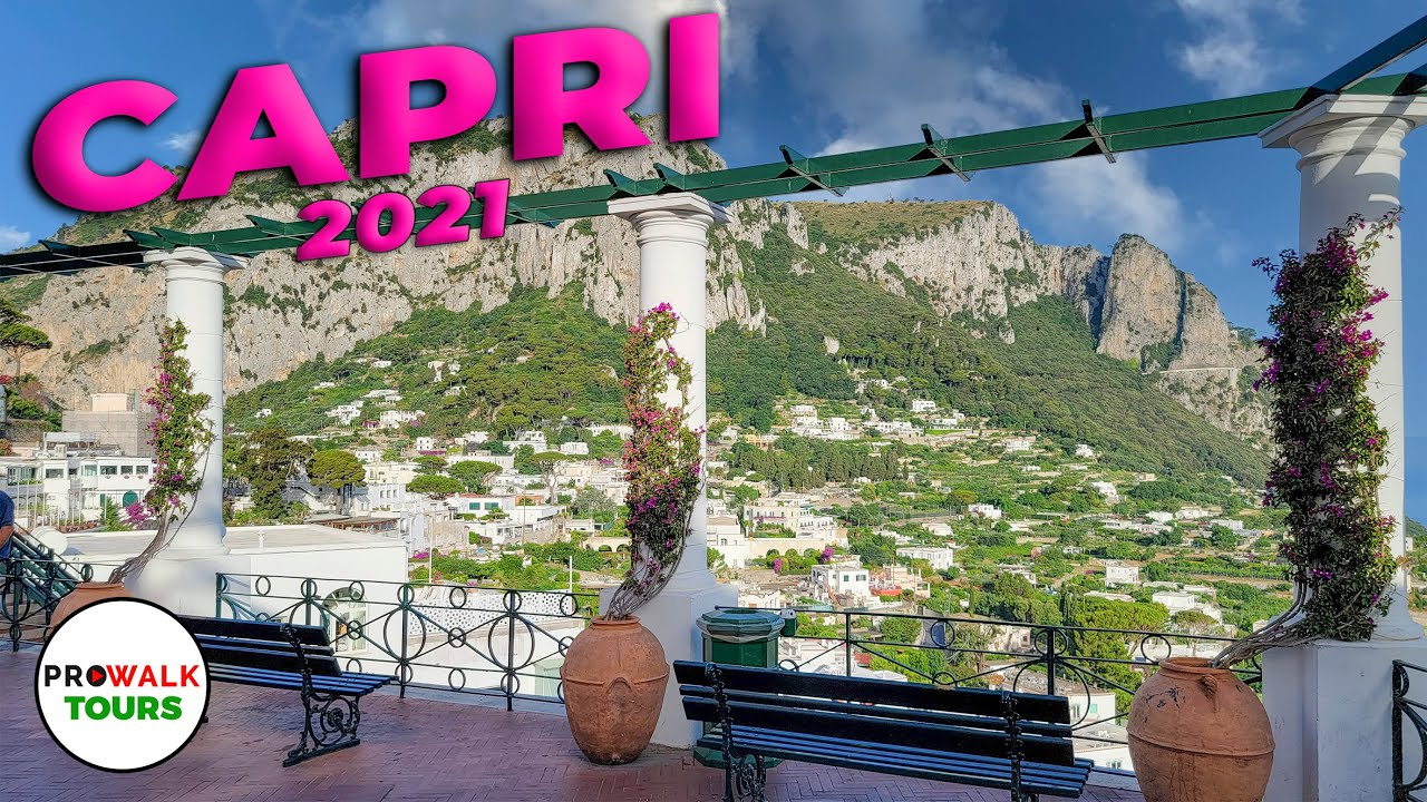 Download Capri, Italy 2021 Walking Tour - 4K - with Captions