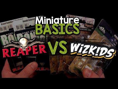MINIATURE BASICS - Comparing The Two Major Budget Miniature Lines