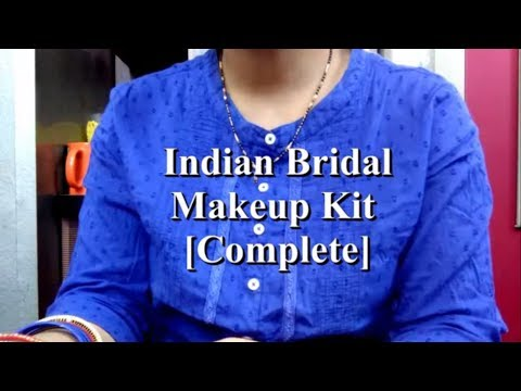 Indian Bridal Makeup Kit [Complete]