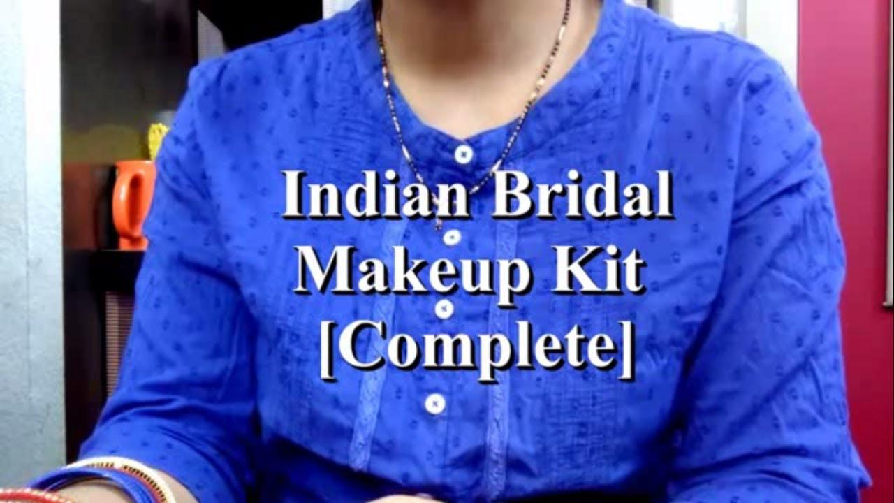 Repeat Indian Bridal Makeup Kit, affordable makeup kit in