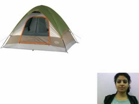 C& Tent Reviews Wenzel Pine Ridge 10u0027x8u0027 - 4 Person Tent  sc 1 st  YouTube & Camp Tent Reviews: Wenzel Pine Ridge 10u0027x8u0027 - 4 Person Tent - YouTube