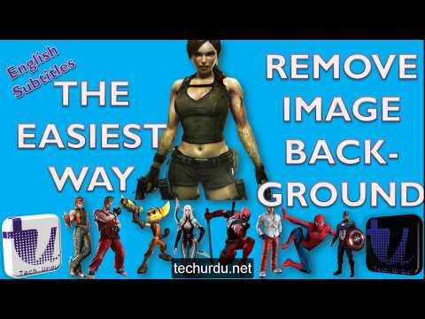 It is the Easiest way to Remove Image Background | How to Make PNG Images? [Urdu/Hindi]