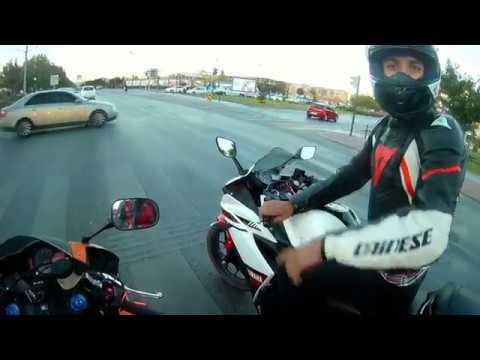 Honda 600RR Tek Teker