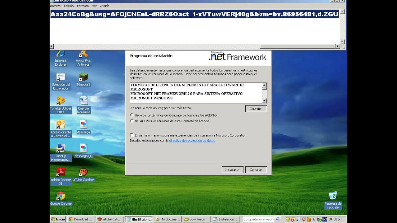 netframework2.0_DESCARGAR .NET FRAMEWORK 2.0 SERVICE PACK 1 PARA WINDOWS XP!! - MR RUDAK - - YouTube
