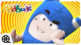 Cartoon | Oddbods - FIDGET | Funny Videos For Children