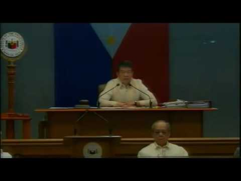Senate News Senator Franklin Drilon Tanggal Bilang Senate President Pro Tempore