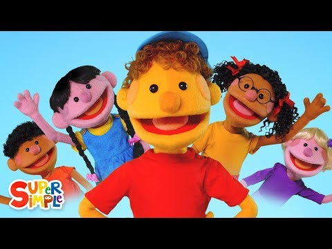 Hello! | Featuring The Super Simple Puppets | Super Simple Songs