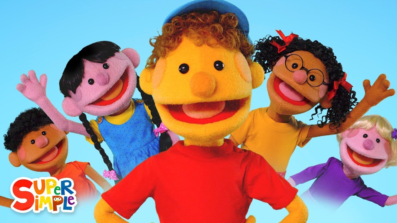 Hello Featuring The Super Simple Puppets Super Simple Songs Youtube