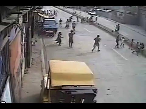WATCH: CCTV catches earthquake in Cebu City