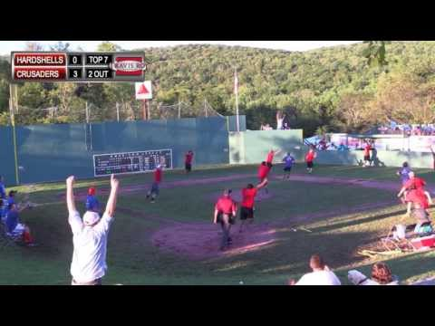 Amazing Game-ending Catch at the 2013 Travis Roy Foundation WIFFLE Ball Tournament