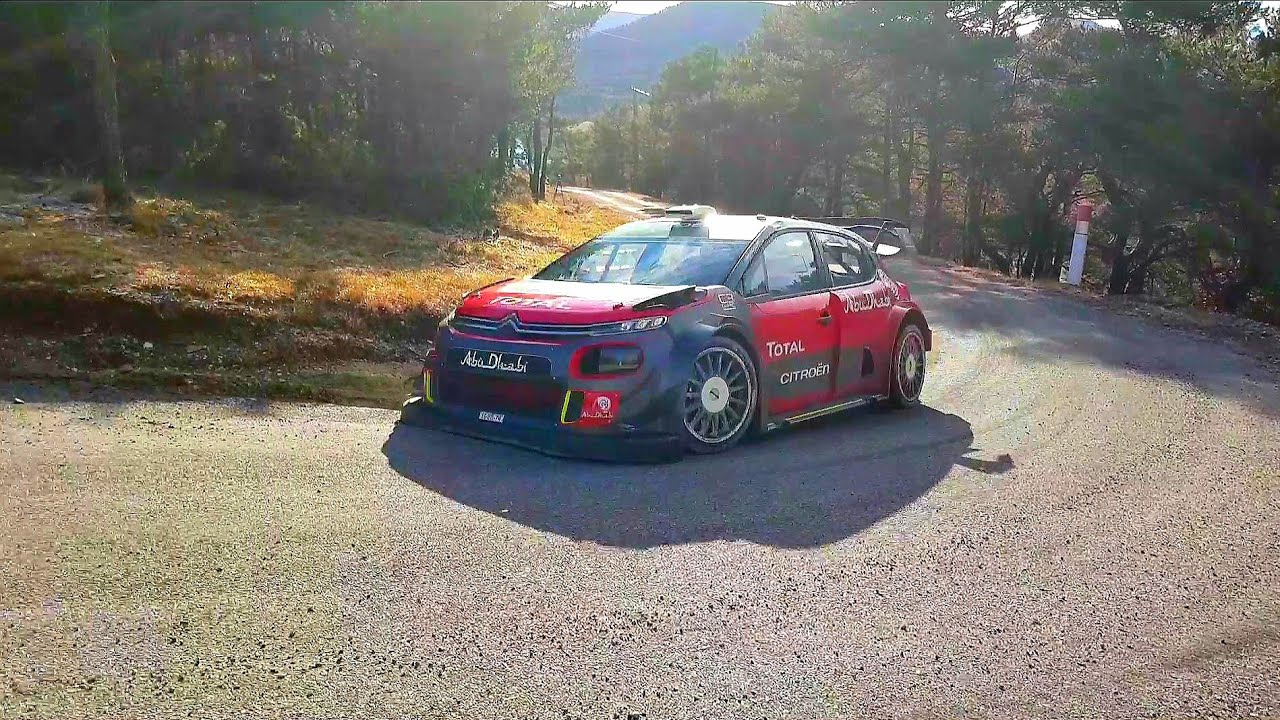 essais mont carlo 2018 kris meeke craig breen youtube. Black Bedroom Furniture Sets. Home Design Ideas