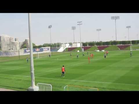 Red Bull Salzburg Team Training Doha 2014 - 2