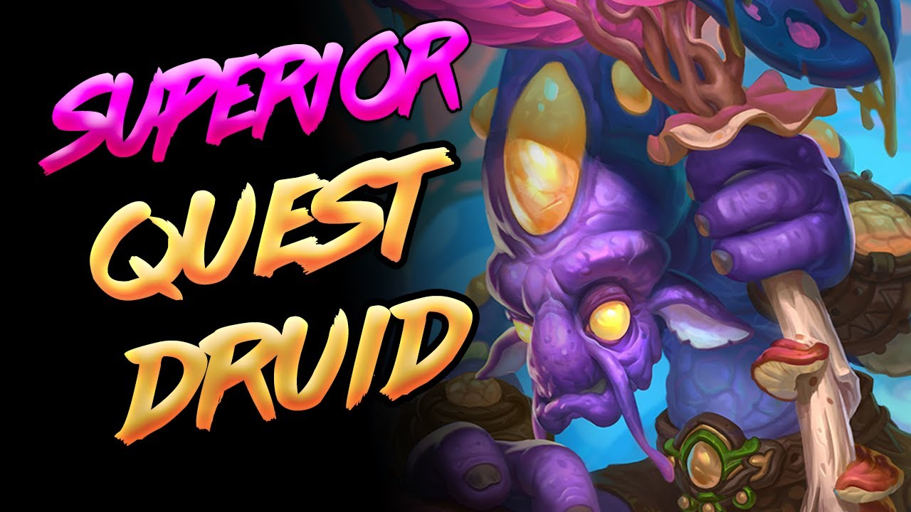 Top 500 Legend QUEST Druid | Superior Deck Tech | Ashes of Outland | Hearthstone