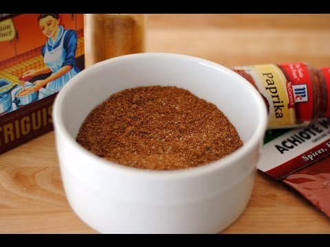 Receta Para Hacer Condimento Completo  - Sustituto Para Triguisar/Sazón Goya - Sweet y Salado
