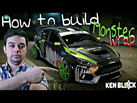 Need for speed 2015-How to build Ford Monster Ken Block (tutorial)