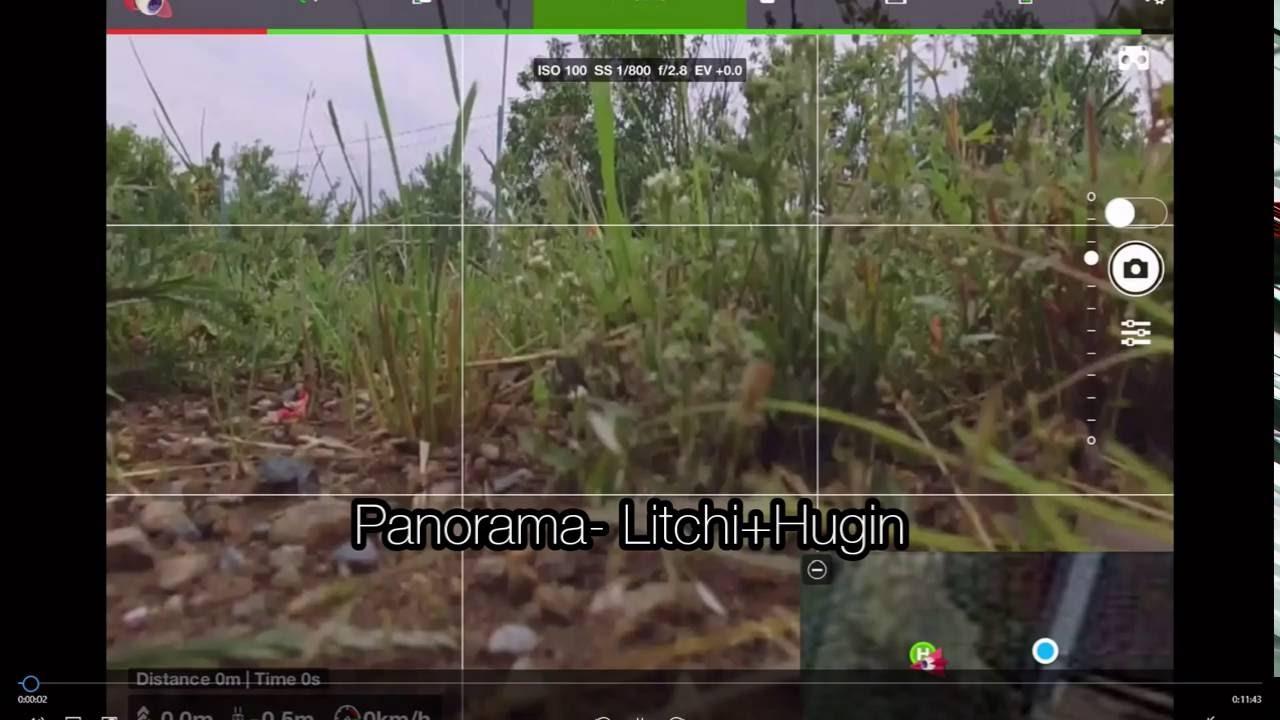 DJI Phantom 3 Standard- Panorama tutorial- Hugin+Litchi